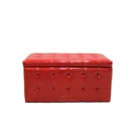 ASSISE COFFRE ROUGE