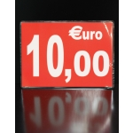 CARTONNETTE PLASTIFIEE 10€